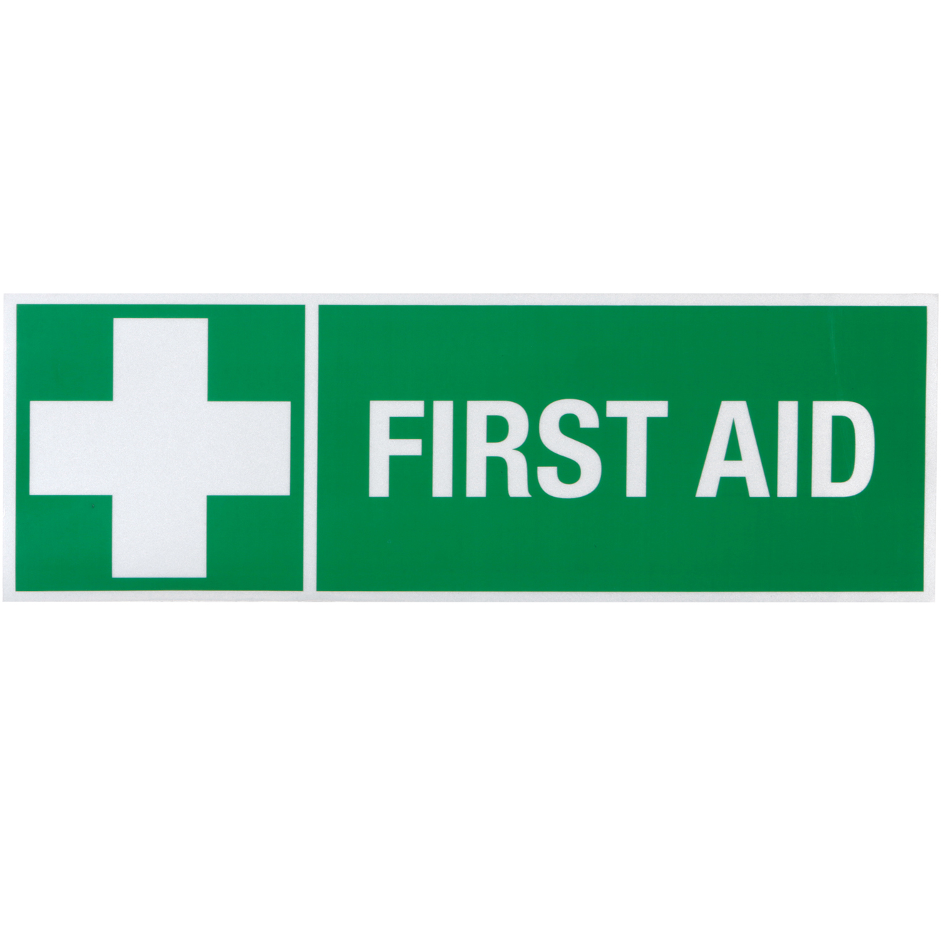 First Aid Room Reflective Sticker | St John NSW