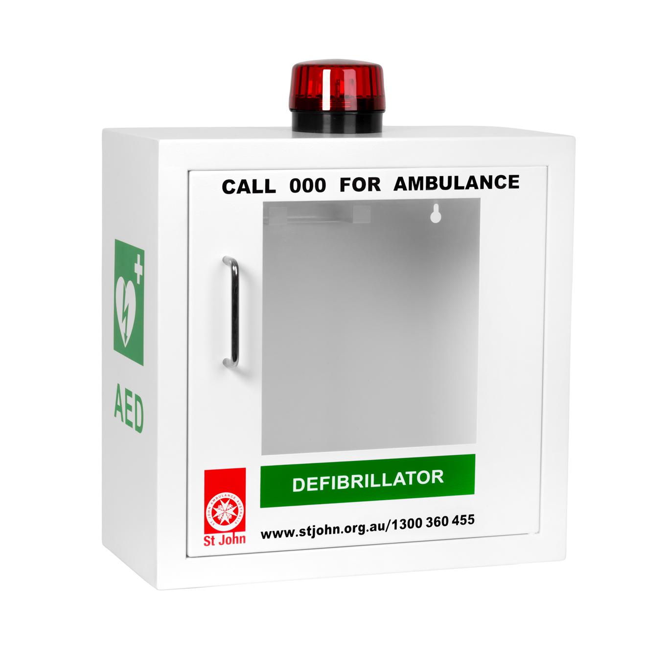 St John AED Cabinet