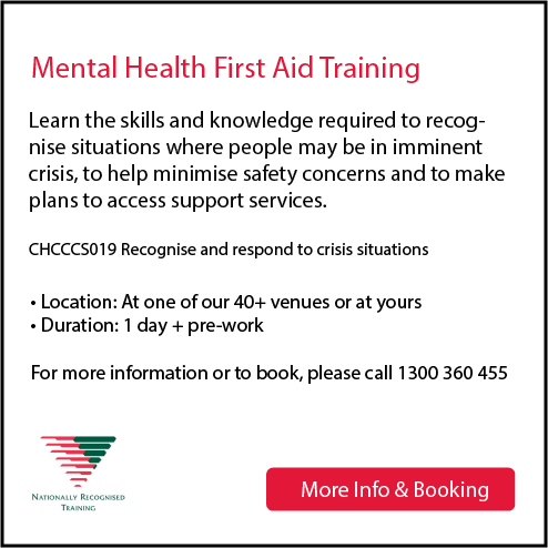 Mental Health First Aid St John Nsw